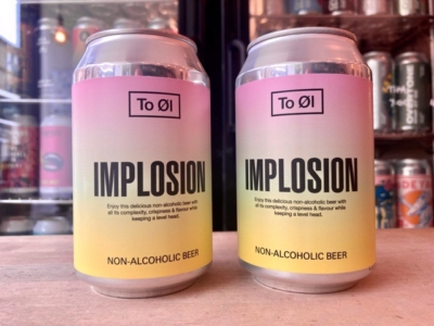 To Øl – Implosion – Non Alcoholic Pale Ale